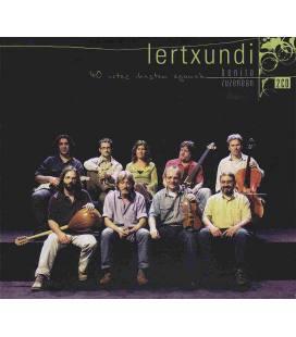 40 Urtez Ikasten Egonak - Zuzenean-1 CD