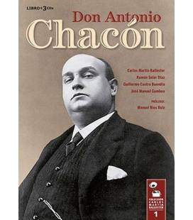 Don Antonio Chacon, Coleccion C.Martin-1 LIBRO+3 CD