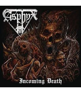 Incoming Death. Ltd. CD+DVD Mediabook Incl. Stickers