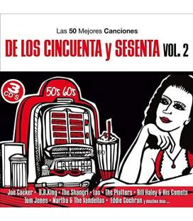 Las 50 Mejores Canciones de los 50 y 60 Vol.2-3 CD