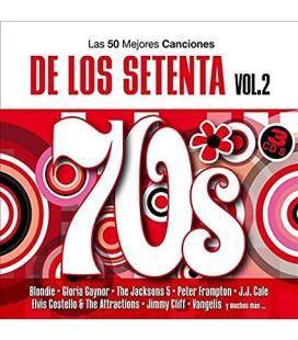 Las 50 Mejores Canciones de los 70 Vol.2-3 CD