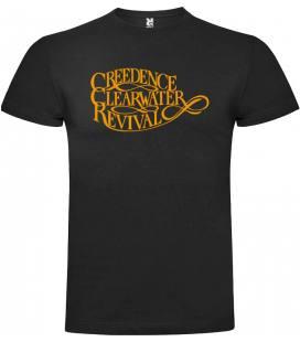 Creedence Clearwater Revival Logo Camiseta Manga Corta