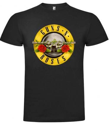 Guns N Roses Circle Camiseta Manga Corta