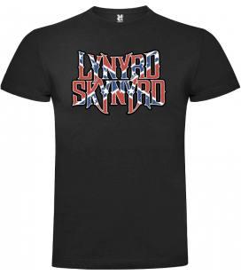 Lynyrd Skynyrd Flag Camiseta Manga Corta