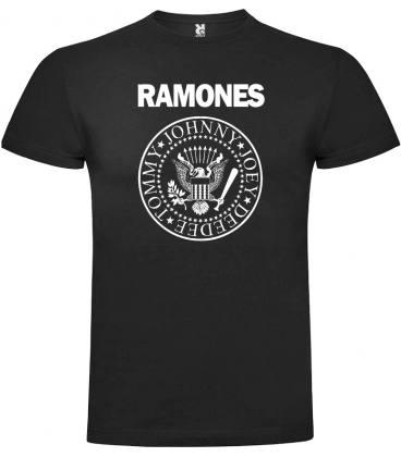 Ramones Logo Camiseta Manga Corta