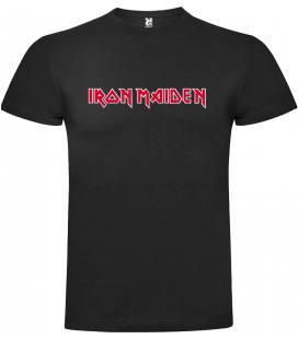 Iron Maiden Logo Camiseta Manga Corta