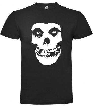 Misfits Skull Camiseta Manga Corta