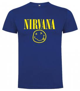 Nirvana Smiley Camiseta Manga Corta