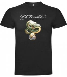 Whitesnake Snake Camiseta Manga Corta