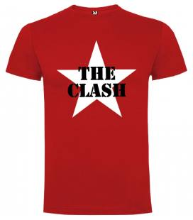 The Clash Star Camiseta Manga Corta