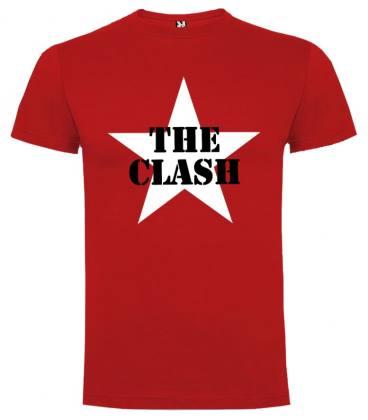 The Clash Star Camiseta Manga Corta
