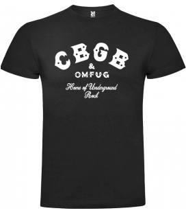 CBGB Logo Camiseta Manga Corta