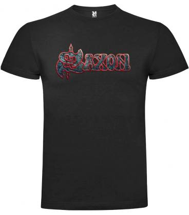 Saxon Logo Camiseta Manga Corta