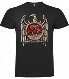 Slayer Logo Camiseta Manga Corta