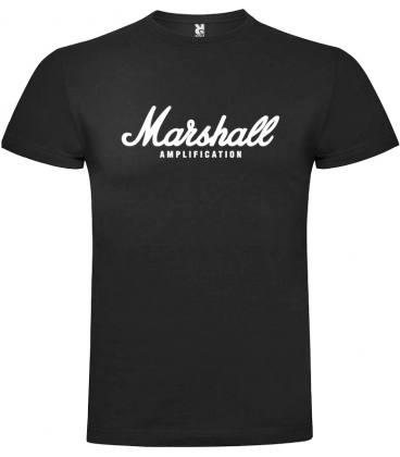 Marshall Logo Camiseta Manga Corta
