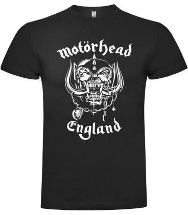 Motörhead England Camiseta Manga Corta