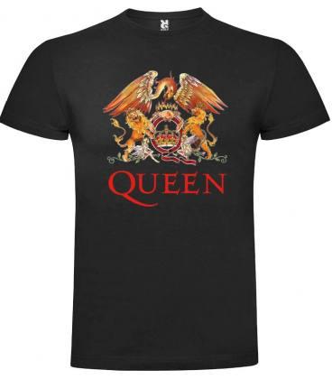 Queen logo Camiseta Manga Corta