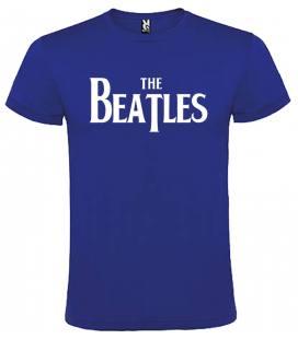The Beatles Logo Camiseta Manga Corta