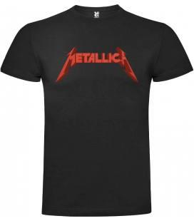 Metallica Logo Camiseta Manga Corta