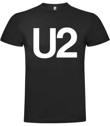 U2 Logo Camiseta Manga Corta
