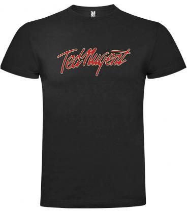 Ted Nugent Logo Camiseta Manga Corta