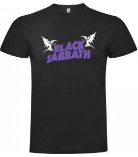 Black Sabbath Logo Camiseta Manga Corta