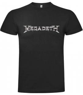Megadeth Logo Camiseta Manga Corta