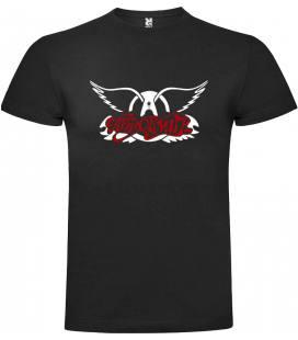 Aerosmith Logo Camiseta Manga Corta