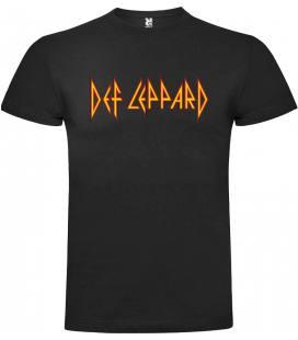 Def Leppard Logo Camiseta Manga Corta