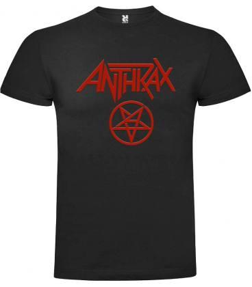 Anthrax Logo Camiseta Manga Corta