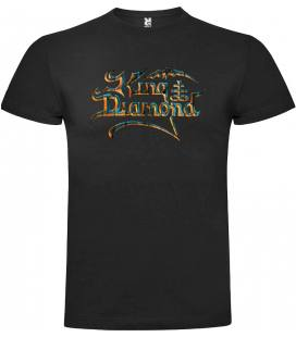 King Diamond Logo Camiseta Manga Corta