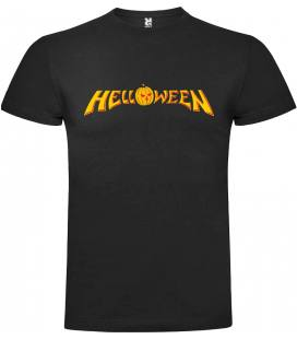 Helloween Logo Camiseta Manga Corta