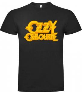 Ozzy Osbourne Logo Camiseta Manga Corta