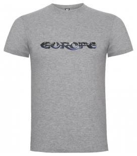 Europe Logo Camiseta Manga Corta
