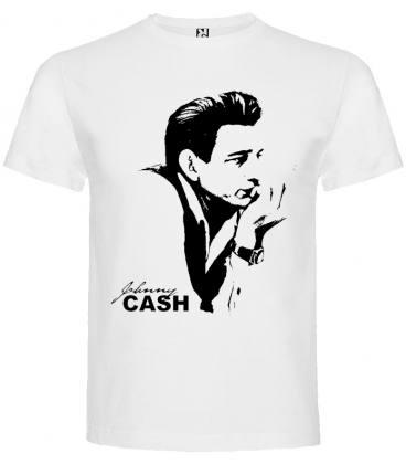 Johnny Cash Camiseta Manga Corta