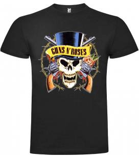 Guns N Roses Guns Camiseta Manga Corta