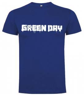 Green Day Logo Camiseta Manga Corta