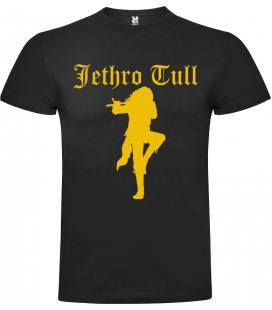 Jethro Tull Ian Anderson Camiseta Manga Corta