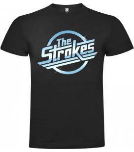 The Strokes Logo Camiseta Manga Corta