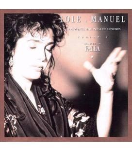 Cantan A Manuel De Falla-1 LP