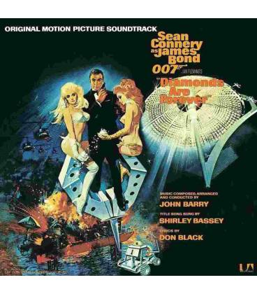 James Bond, Diamonds Are Forever-1 LP