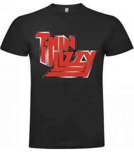 Thin Lizzy Logo Camiseta Manga Corta
