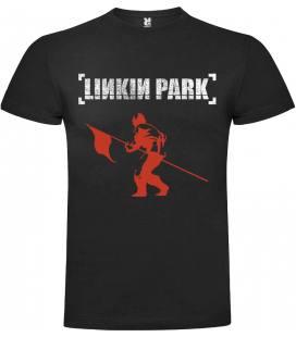 Linkin Park Flag Camiseta Manga Corta