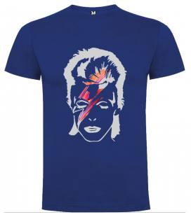 David Bowie Ray Camiseta Manga Corta