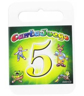 Cantajuego, Vol. 5 (DVD+CD Reedicion)