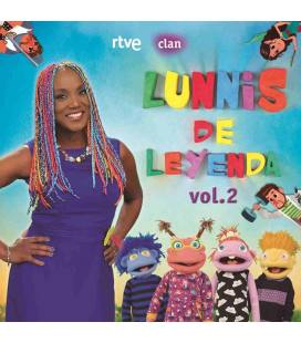 Lunnis de Leyenda, Vol.2-1 CD+1 DVD
