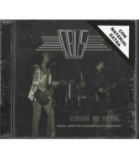 Sirena de metal (Demos, directos e inéditas en sus comienzos. Edición ampliada y oficial) (1 CD)