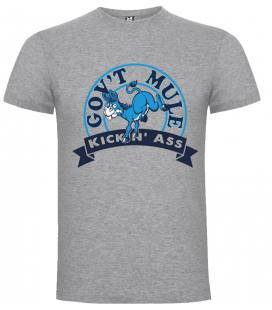 Gov't Mule Kickin Ass Camiseta Manga Corta