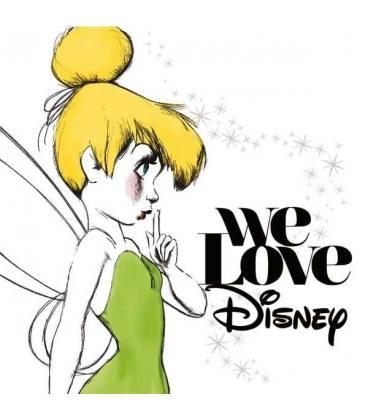 We Love Disney(Standar)-2 LP
