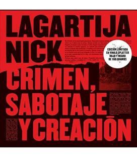 Crimen, Sabotaje Y Creación (Ed. Limitada Vinilo Splatter Rojo Y Negro)-1 LP
